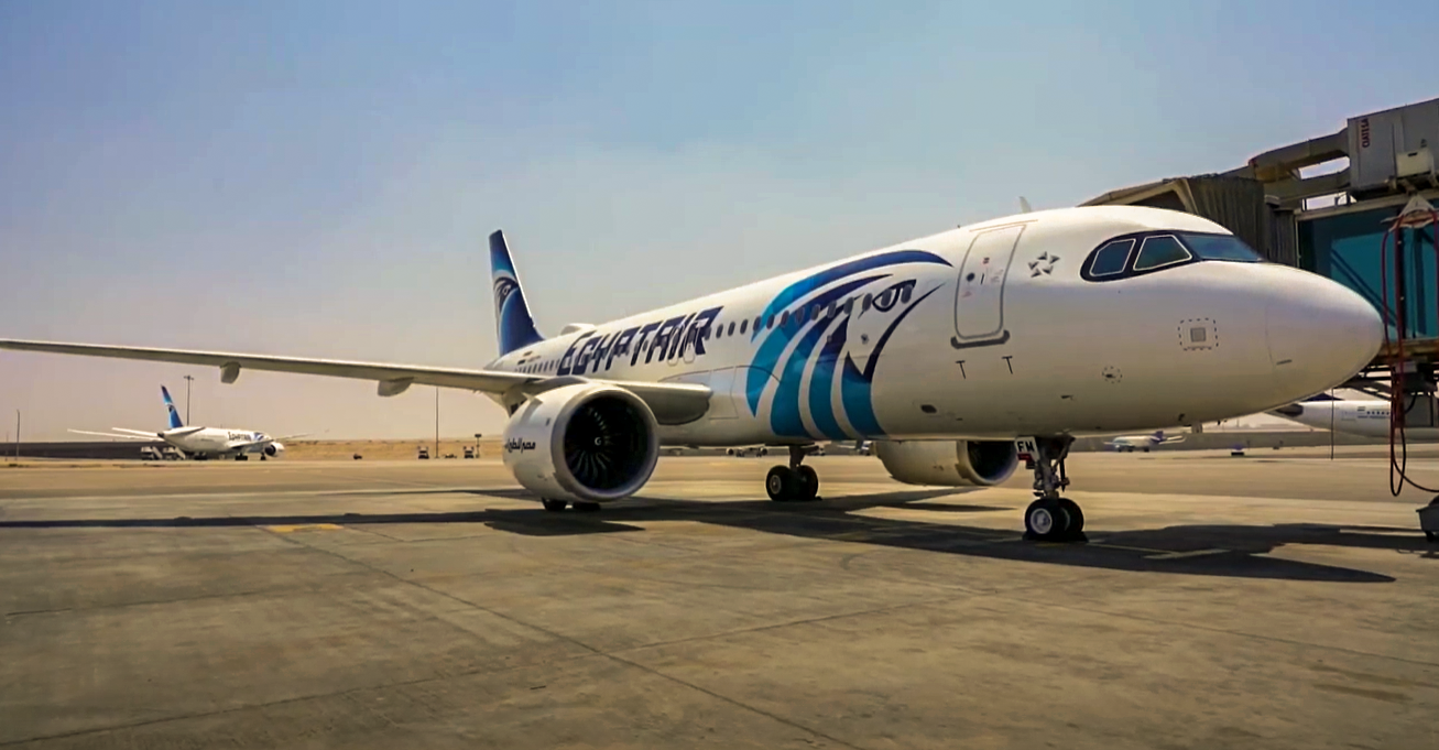 EgyptAir Safety & Disinfection Film (COVID-19)
